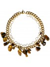 TIGER-EYE NECKLACE