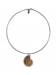 FOSSIL PENDANT NECKLACE