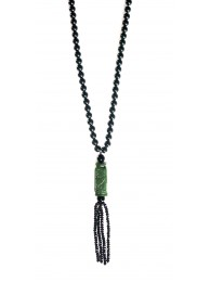 ONYX & JADE NECKLACE