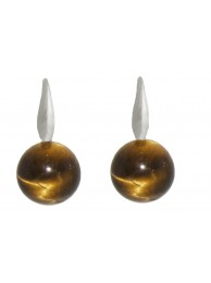 TIGER-EYE EARRING
